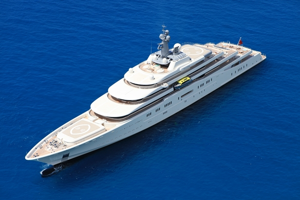 Super Yacht Eclipse by Srđ Portolan
