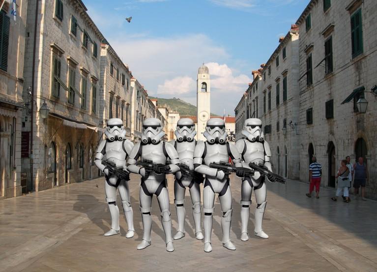 Ratovi zvijezda Dubrovnik